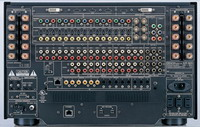 Amplituner Denon AVR-5805 tył