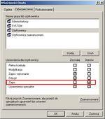 Aby złośliwy kod nie wpłynął na przekładanie nazw URL na adresy IP, powinieneś odebrać wszystkim użytkownikom prawo zapisu do pliku Hosts.