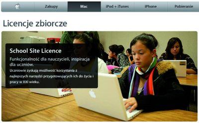 School Site License - oferta Apple'a dla szkół i uczelni.