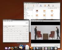 Linux to nie tylko konsola. W dystrybucjach przeznaczonych do normalnej pracy (np. Ubuntu) dostajemy estetycznie wyglądający system wraz ze wszystkimi potrzebnymi narzędziami.