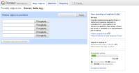 Standardowy mechanizm wysyłania zdjęć do serwisu Google Picasa.