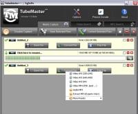 TubeMaster to program desktopowy do wyciągania ścieżek dźwiękowych z filmów publikowanych w YouTube.