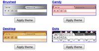 Przykładowe motywy udostępnione przez Google