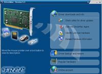 Interfejs programu DriverMax jest przejrzysty i dopracowany, poradzi sobie z nim każdy użytkownik.