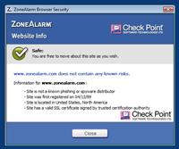 Coraz więcej programów antywirusowych jest wyposażonych w dodatki do przeglądarki internetowej, które na bieżąco weryfikują wiarygodność stron WWW.