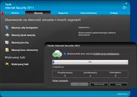 Panda Internet Security 2011 prezentuje nowy interfejs i nowe opcje do zarządzania plikami na dysku.