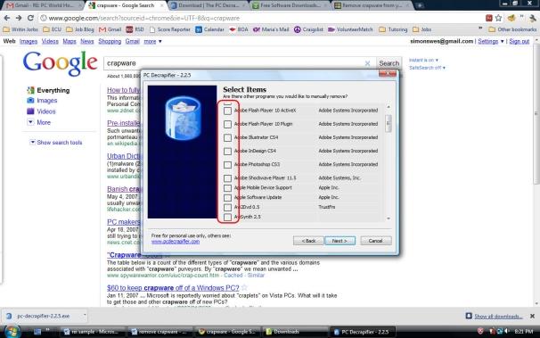 Program PC Decrapifier pozwoli na szybkie usunięcie wszystkich śmieci znajdujących się w systemie