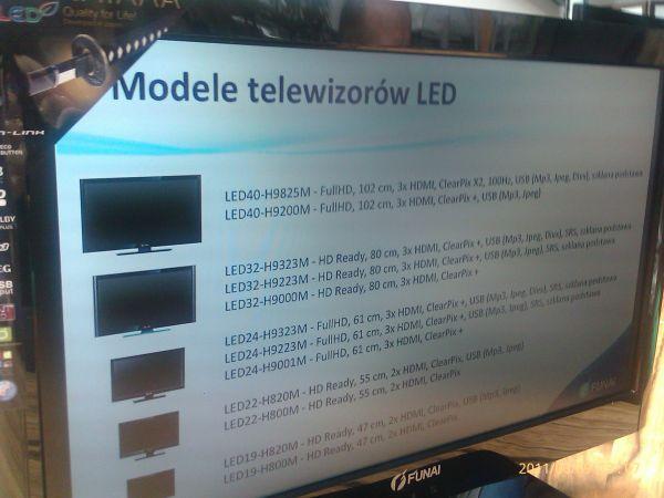 Funai - modele Katana LED
