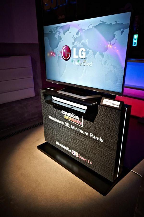 LG Cinema Screen na 2012 rok