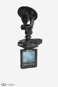 Dzięki obrotowemu monitorowi można na bieżąco oglądać nagrywany przejazd