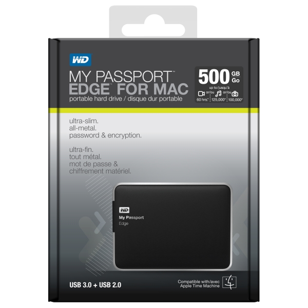 My Passport Edge for Mac opakowanie