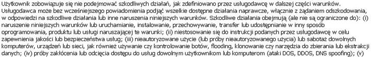 Regulamin - Pobieraczek.pl