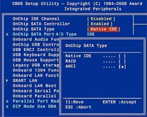 Większość parametrów BIOS-u to pola listy, w których należy zaznaczyć właściwą opcję.