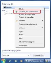 Aby wprowadzić zmiany w menu rozruchowym Windows, musisz uruchomić konsolę tekstową z uprawnieniami administratora.