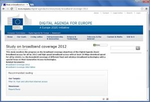 Komisja Europejska nadzoruje rozbudowę szerokopasmowych sieci internetowych w większości państw naszego kontynentu, publikując wyniki w raportach.