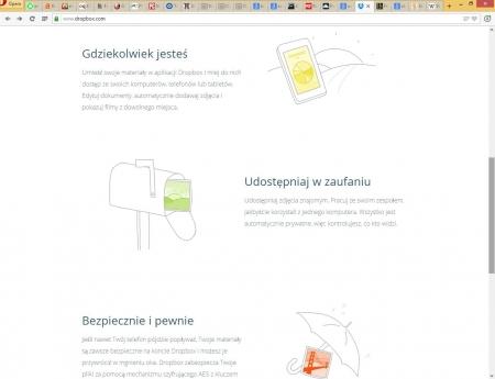 Dropbox – miejsce do przechowywania plików w internecie