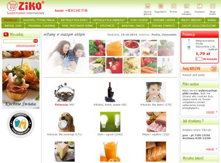 Na rynku funkcjonuje wiele lokalnych supermarketów, jak choćby Ziko.pl, który każdego dnia dostarcza świeże produkty mieszkańcom Krakowa i okolic.