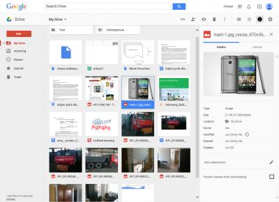 W Google Drive bez podświetlenia ikony trudno domyślić się jej przeznaczenia. Można się jednak szybko przyzwyczaić