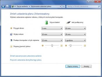 Windows zapewnia schematy ustawień, które pomagają w oszczędzaniu energii. W razie potrzeby możesz utworzyć własne lub dostosować oferowane do własnych potrzeb.