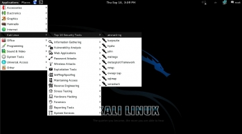 Bezpretensjonalny, za to naszpikowany narzędziami do badania zabezpieczeń – system Kali Linux doskonale nadaje się do sprawdzania swojej sieci, jednak można go także nadużyć.