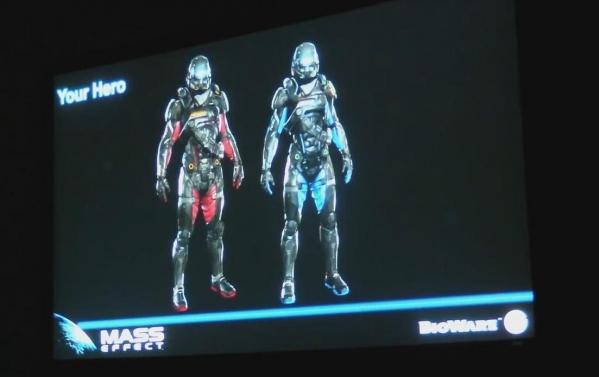 Mass Effect 4 - wybór bohatera/bohaterki