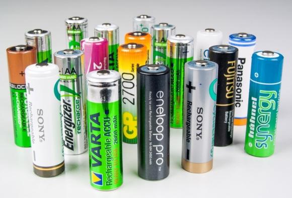Akumulatorki, które wzięły udział w teście