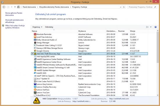 Crapware możesz usunąć za pomocą systemowego modułu Programy i funkcje. Po prostu odinstaluj aplikacje i narzędzia, które uważasz za zbędne.