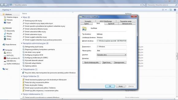Tworząc odpowiedni skrót, możesz uzyskać wygodny dostęp do podstawowych elementów konfiguracji systemu.
