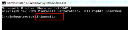 W wierszu poleceń sprawdzisz adres IP niezbędny do otwarcia panelu administracyjnego routera.