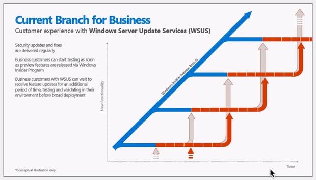 Ścieżki aktualizacji Windows w ramach WSUS