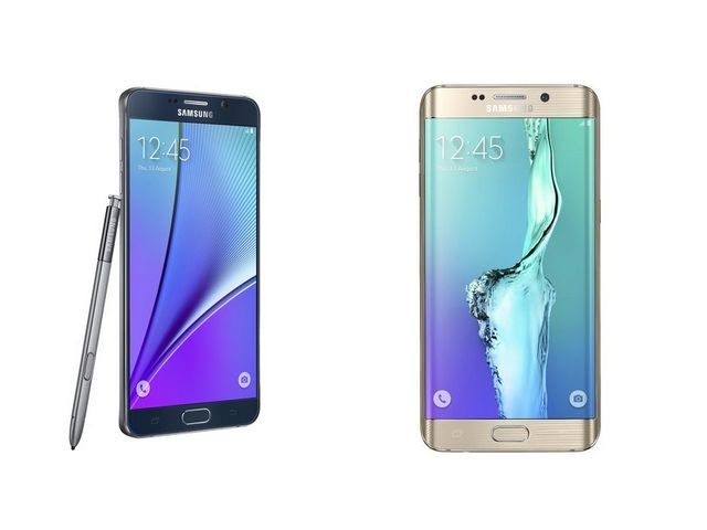 Galaxy Note 5 i Galaxy S6 Edge+
