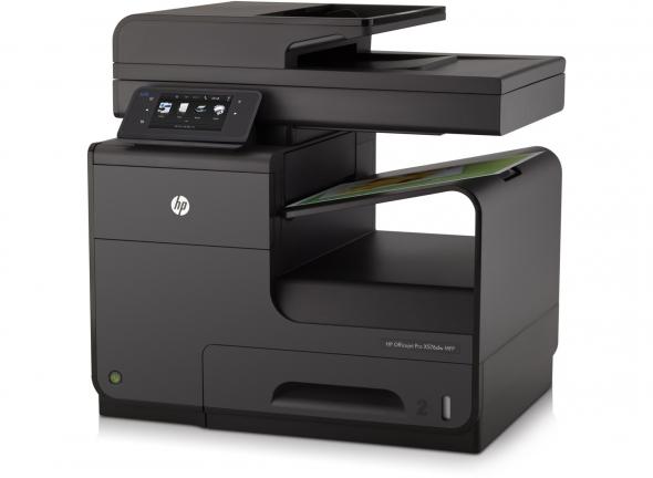 Biurowe urządzenie wielofunkcyjne HP Officejet Pro X576dw to model, w którym zastosowano technologię PageWide pozwalająca na wydruk do 70 stron na minutę. źródło HP