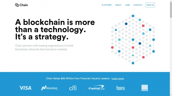 Amerykańska giełda papierów wartościowych Nasdaq nawiązała współpracę z firmą Chain w celu rozwijania technologii łańcucha bloków.