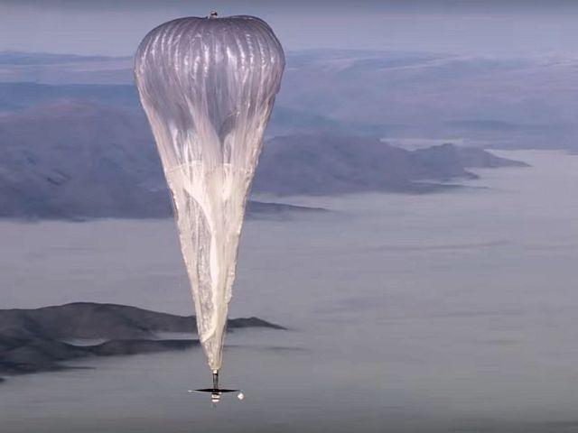 Google - projekt Loon, czyli balony dostarczające internet