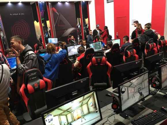 Na IEM Expo gracze mogli sprawdzić najnowszy i najlepszy sprzęt