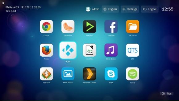 Aplikacja HD Station obsługuje przeglądarkę Google Chrome, dzięki czemu można korzystać z Internetu i odwiedzać strony serwisów społecznościowych za pomocą telewizora. Wymagany jest tylko serwer NAS QNAP z wbudowanym gniazdem HDMI.