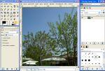 GIMP w wersji 2.2